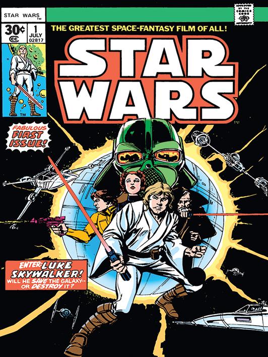 Star Wars (Enter Luke Skywalker) Canvas Print