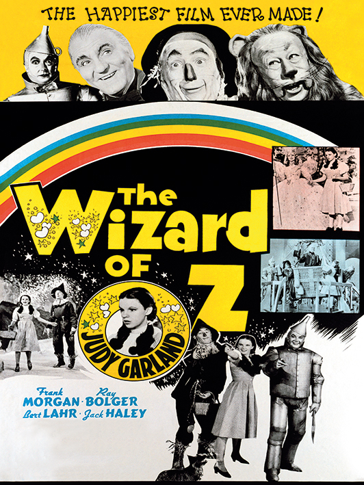 The Wizard of Oz (The Happiest Film Ever Made) Canvas Print