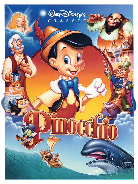 Pinocchio (Cast) Canva