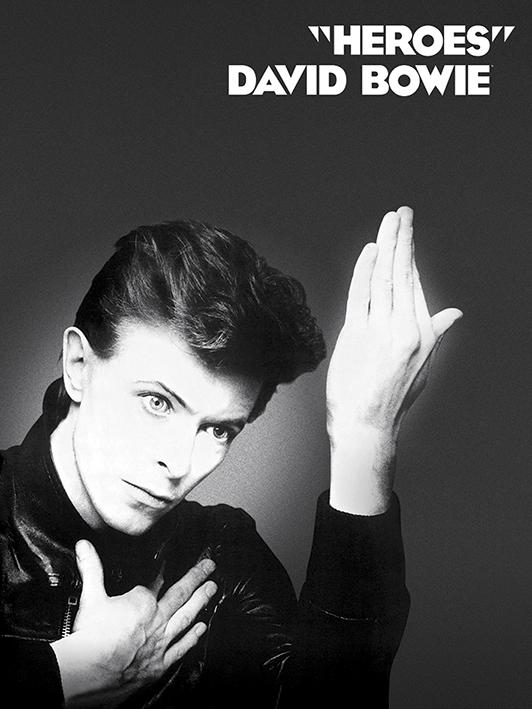 David Bowie (Heroes) Canvas Prints
