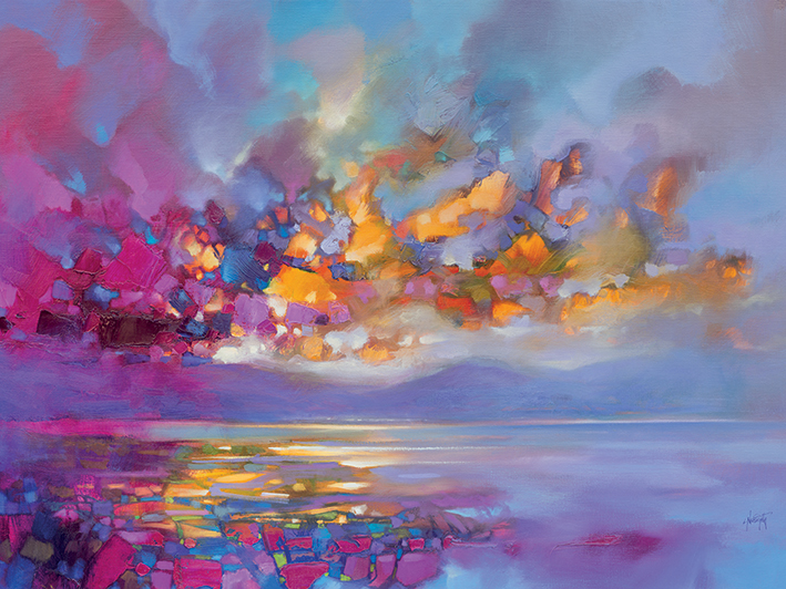 Scott Naismith (Magenta Refraction) Canvas Prints
