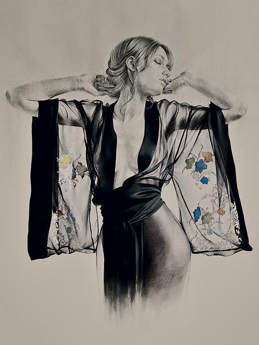 T. Good (Kimono) Canvas Print