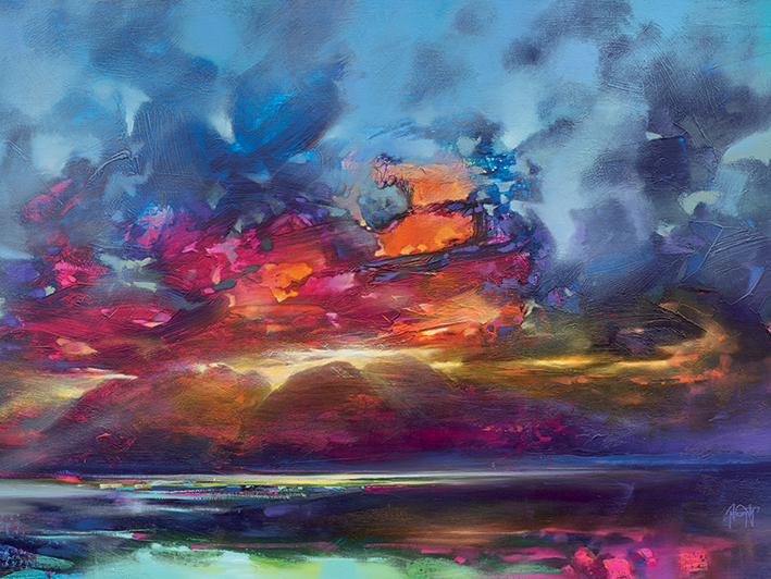 Scott Naismith (Island Light) Canvas Prints